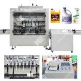 Automatische Chlorid-Kosmetik-konservierende lineare Füllmaschine mit Zeit-Steuermikrocomputer-Strömungsmesser-intellektueller Gewichtung