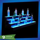 포도주, 대중 음악 진열장을 서 있는 바를 위한 LED를 가진 비친 아크릴 싱크대 전시