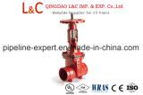 UL Listed Osy Aprovados pela FM Válvula de gaveta com a extremidade flangeada 300 psi de pressão