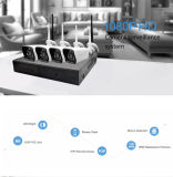Kit domestico senza fili del sistema NVR della macchina fotografica del CCTV del IP WiFi di obbligazione di sorveglianza di P2p 720p Digitahi