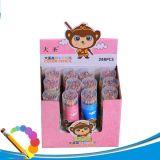 Crayons en bois d'HB de corps coloré de peinture de papeterie