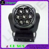 専門家LEDの移動ヘッドビームライトズームレンズの洗浄7X15W