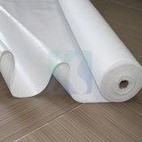 Alta qualidade de utilização doméstica melhor aderência de tecido do filtro de poliéster branco