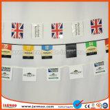 Jarmooの防水二重側面の印刷PVC旗布のフラグ