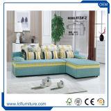 Bases secional bege delicada do sofá do sofá do jogo de sala de visitas do PC do sofá 3 e do sofá, mobília de Bisini, estilo moderno
