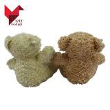 Urso colorido da peluche do impulso macio de Customzied para meninas