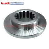 Flangia saldata degli accessori per tubi di vuoto dell'acciaio inossidabile con il foro del bullone