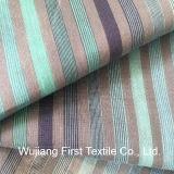 Silk Baumwollgarn-gefärbtes Streifen-Gewebe