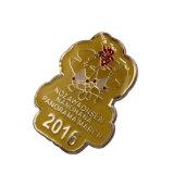 2018 La Chine de la fabrication de l'émail métal unique Insigne Insigne Pin personnalisé