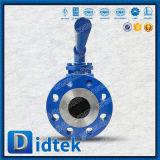 Шариковый клапан Wcb литой стали испытания Pn100 DIN Didtek 100% плавая