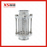 25.4mm de aço inoxidável higiênico higiênico Triclamp Sight Glass with Protection Sleeve
