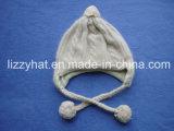 Form-Qualitäts-Angora/Wollen gestrickter Schal mit Kabel