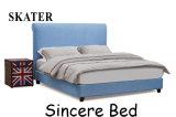 Sk25 미국식 침실 직물 침대