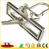 Het promotie Embleem Keychain van de Klant van het Metaal