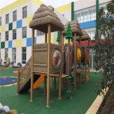2015人の自然な景色シリーズ屋外の子供の運動場装置(NL-02201)