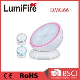 Indicatore luminoso girante dell'interno di notte del sensore di movimento di 360 gradi LED con il magnete