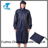 Poncho da chuva da segurança dos homens com revestimento do PVC