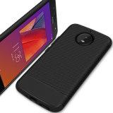 Moto G6를 위한 새로운 탄소 섬유 TPU 전화 상자