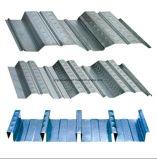 Strato ondulato di Decking del pavimento dei travetti del metallo galvanizzato acciaio caldo per calcestruzzo