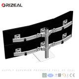 Free Standing moderno aspecto Sextuple CCTV Monitores (OZ-OMM059)
