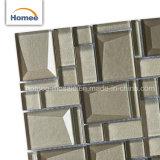 Cheap mur en brique de verre en cristal biseauté décoratifs Mosaïque de Métro