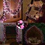 Cadeia de Caracteres de Natal, Yming 9.8FT luz LED 400 Luz estrelada luz das Fadas, Piscina Interior da esfera decorativa luz de String para o Natal, quarto, pátio e jardim, Wedding