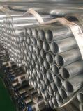 Bâtiment et Construction plaine d'utilisation de l'extrémité du tube en acier galvanisé à chaud selon la norme ASTM A53