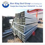 Feux de tuyau en acier galvanisé à chaud/gi Tuyau en acier carré/Tube Structure des matériaux de construction