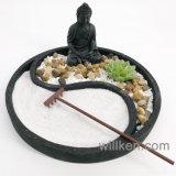 Echte Rotsen die van het Zand van Zen de Fijne de Decoratie van het Tafelblad van de Uitrusting van de Tuin van de Hark ontspannen