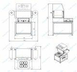 Industrielle vertikale automatische Schnellimbiss-Kasten-Cup-Tellersegment-Abdichtmassen-Dichtungs-Verpackungsmaschine