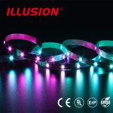Striscia incorporata di CC 5V LED di CI Digital 5050 RGB