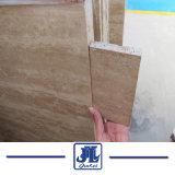 Natürliche Marmorsteintravertin-Fliese für Eitelkeit/Badezimmer-Wand u. Fußboden