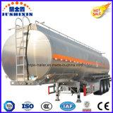 Petroleiro do combustível Diesel do petróleo da liga de alumínio de 3 eixos