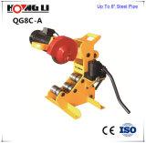 """machine de découpage de serrage hydraulique de la pipe 450W 2 """" - 8 """" pipes en acier (QG8C-A)"""