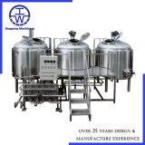 preparazione della birra del mestiere 100L-5000L e strumentazione 100L 500L 1000L 1500L 2000L 3000L 5000L della fabbrica di birra