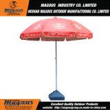 日傘を広告するアンカービール