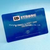 Impressão personalizada de logotipo protector da placa de bloqueio de RFID