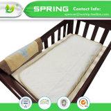 Protezione impermeabile del materasso della greppia del bambino del fornitore della Cina, rilievo della greppia del bambino, rilievo impermeabile del bambino