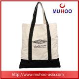 Lona de Eco/saco Tote Foldable reusáveis do algodão para a praia