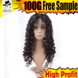 Продукты волос бразильского Silk переднего парика шнурка