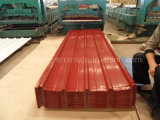 hoja de acero del Galvalume revestido del PE de 0.14-0.3m m PPGI para el material para techos del metal del color de África