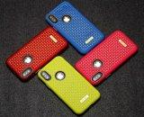 Glänzender Shockproof hybrider schützender Kasten des Telefon-2 in-1 für iPhone X