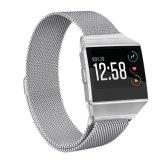 La correa de muñeca más nueva del bucle de Milansese para las vendas de reloj iónicas del reemplazo de Fitbit, para la venda de reloj milanesa iónica de Fitbit