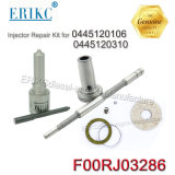 Rampe commune Erikc nouveaux kits de remise en état ensemble F 00r J03 286 (F00RJ03286) F00r J03 286 pour l'injecteur 0445120106 0445120310