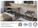A mobília econômica do quarto do hotel ajustou-se com folheado do carvalho (YB-807)