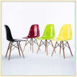 مطعم حديثة يتعشّى كرسي تثبيت, قضيب كرسي تثبيت مع مقادات زاويّة بلاستيكيّة