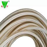 Une couche flexible tressée flexible hydraulique Appuyez sur le tuyau flexible