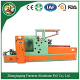 Machine de découpage et de rebobinage de papier d'aluminium