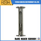 Tutto il rotametro verticale del tubo di vetro dell'acciaio inossidabile
