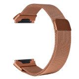 Correa magnética de la hebilla del bucle milanés de la pulsera para la venda iónica de Fitbit